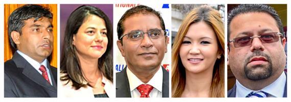 Eshan Juman, Joanna Bérenger, Farhad Aumeer, Karen Foo Kune et Kushal Lobine feront leur entrée au Parlement ce jeudi 21 novembre.