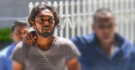 Subiraj Sobnauth a fracassé le crâne de son ami Akash Luttoo avec un gourdin.