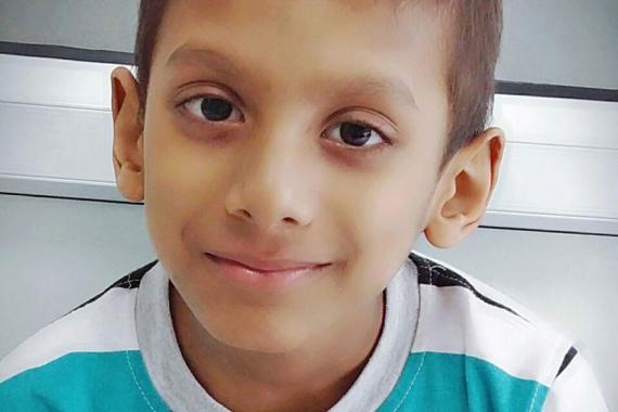 Cancer chez l'enfant : Le calvaire du petit Kavish raconté par sa ...