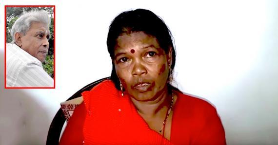 Phoomaty Dooky était à moto avec son époux lorsque l'accident s'est produit.