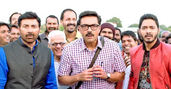 Sunny Deol, Bobby Deol et Shreyas Talpade se retrouvent dans une situation embarassante.