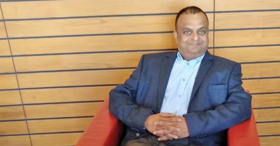 Le Dr Jai Kishen, CEO de Red Kangaroo Health, a plus de 30 ans d'expérience clinique.