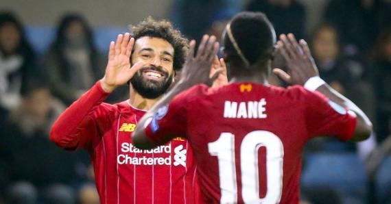 Harry Kane tentera de donner la réplique à Mo Salah et Sadio Mané.