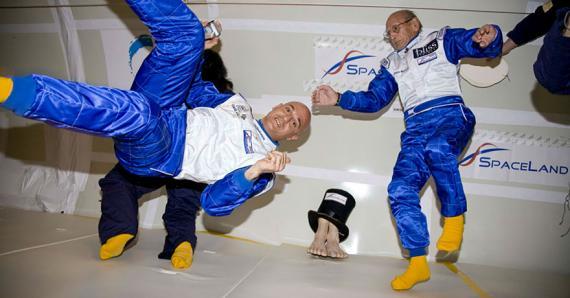 L'astronaute veut que Maurice soit la première île de l'espace.
