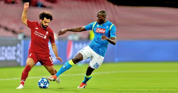 Le Napoli de Kalidou Koulibaly avait battu les coéquipiers de Mohamed Salah (0-1) àl'aller la toute dernière minute.