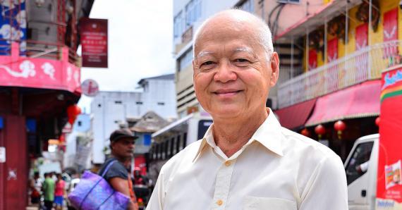 Titoni Lam est heureux de voir renaître le quartier de son enfance.