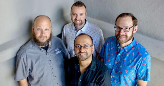 Avec ses collègues, le Mauricien, établi aux USA, crée de belles choses, dont un court-métrage d'animation récemment.