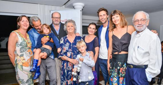 Jaqueline Dalais a vécu ce moment riche en émotion avec sa famille.