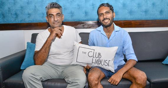Ashik Fulena et Jeffrey Massé présentent leur club.