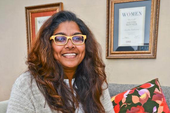 La directrice de Gender Links (Mauritius) se dit bénie de pouvoir mener une telle mission.