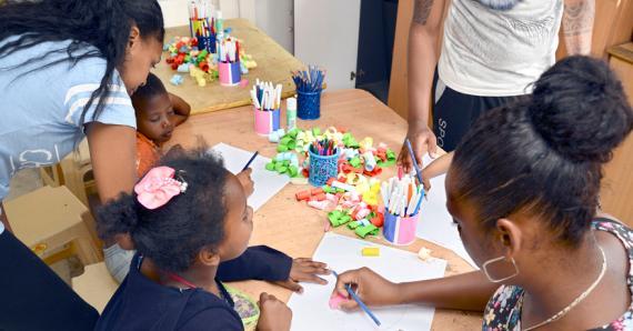 Les activités pour le développement et l'épanouissement des enfants ne manquent pas.