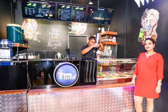 Le Bubble TasTea lancera bientôt le Bubble waffle.