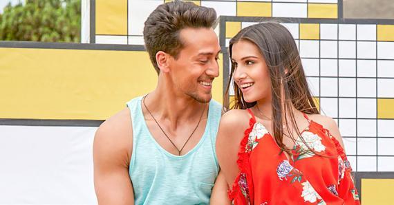 Tiger Shroff, Tara Sutaria et Ananya Pandey sont en mode compétition dans ce film.