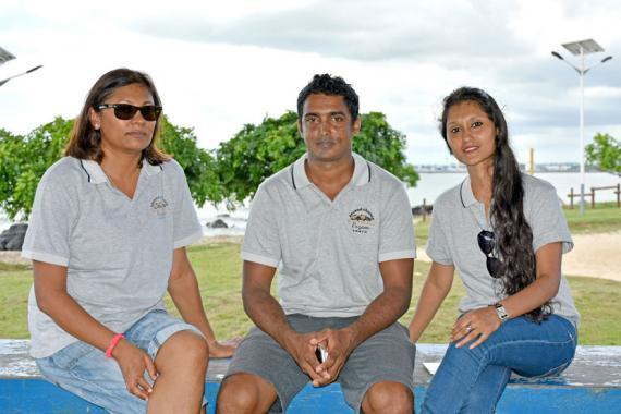 Madhu Bholah-Appassamy, Sameer Golam et Youshreen Golam se dévouent corps et âme au bien-être de nos amis à quatre pattes.