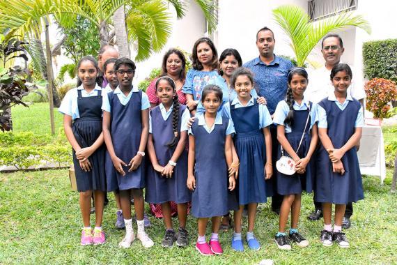 L'hôtel Veranda et l'école de Quatre-Cocos ont à cœur la protection de l'environnement.