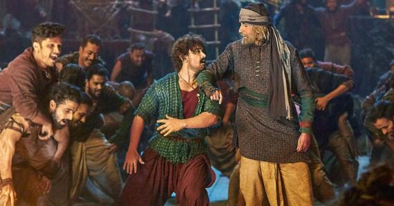 Amitabh Bachchan, Aamir Khan, Katrina Kaif et Fatima Sana Shaikh sont au generique de ce film d'action.