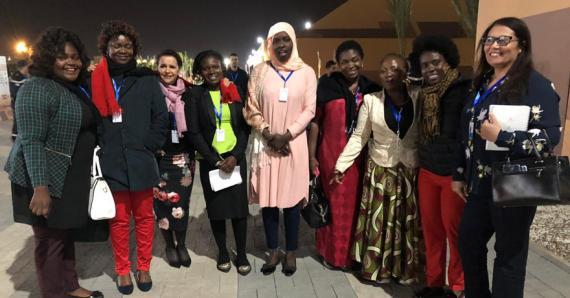 Les femmes journalistes d'Afrique, faisant partie du réseau des Panafricaines, étaient en force à Marrakech, lors de l'adoption du pacte mondial pour des migrations sûres, ordonnées et régulières.
