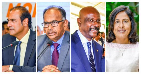 Steven Obeegadoo, Alan Ganoo, Joe Lesjongard ou encore Fazila Daureeawoo-Jeewa ont déjà des expériences de ministre.