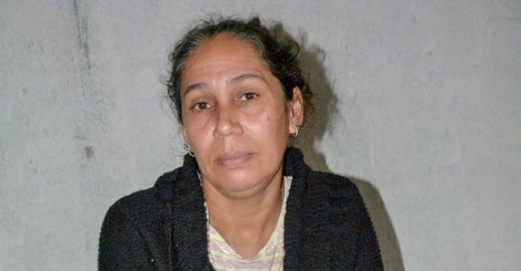 Mariam, l'épouse du capitaine Bheenick, espère un miracle.