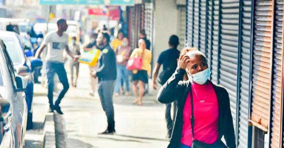 Les rues étaient très animées pour le premier jour du déconfinement.