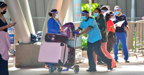 Les visiteurs qui débarquent dans le pays depuis le jeudi 15 juillet vont dans des Resort Bubbles décrétés Covid-safe.