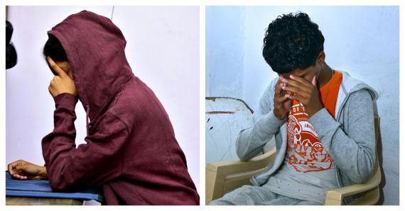 Karishma* et Alexandre* (à dr.) sont traumatisés depuis leurs agressions.