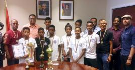 Ces jeunes ont remportés un tournoi international en Russie.