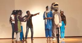 Les Contes de sagesse d'Afrique transposés en une pièce de théâtre par la Comédie mauricienne.