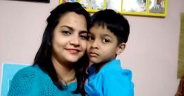 Komal et Vihaan, tout comme Véronique et Brandon, apprennent à vivre avec ce handicap au quotidien.