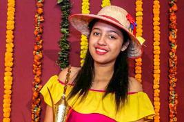 La jeune femme est fière d'avoir fait découvrir la culture mauricienne et rodriguaise à une vingtaine de pays.