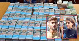 Sameer Nobeebocus et sa femme Aniisah Bolaki ont été arrêtés à l'aéroport avec une grosse somme d'argent.