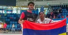 Sendila Mourat et Shameen Elaheebocus sont montés sur la plus haute marche du championnat du monde en Hongrie.