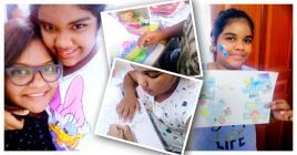 Zaynah organise plein d'activités pour occuper les journées de sa fille chérie.