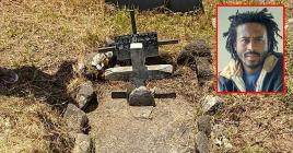 Comparée à celle de Kaya, la tombe actuelle de Berger Agathe est beaucoup plus modeste.