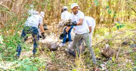 Comme le groupe Medine, de nombreuses associations et firmes ont participé à cette Journée mondiale  du nettoyage.