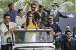 Que du beau monde dans ce troisième volet qui verra la participation d'Anil Kapoor, de Madhuri Dixit, d'Ajay Devgan, d'Arshad Warsi, de Riteish Deshmukh et Sonakshi Sinha, entre autres.