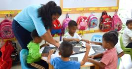 Les petits ont droit à plusieurs activités sur différentes thématiques.