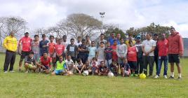 La nouvelle académie de football s'entraîne les jeudis et dimanches.