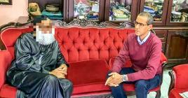 Naushad Mooniaruthen compagnie du député Osman Mohamed du PTr.