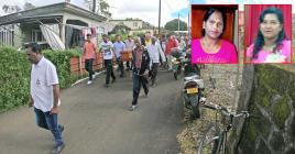 Plusieurs centaines de personnes se sont déplacées au domicile des Peerthy pour rendre un dernier hommage à Ranjeeta et à sa belle-sœur, Danwantee.