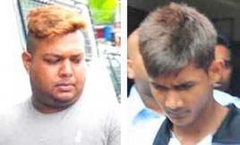 Les frères Baboolall nient avoir volontairement renversé Anand et son fils