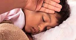 La fièvre isolée est un des symptômes à prendre en considération.
