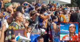 Les funérailles du chanteur à Ste-Croix, mercredi dernier, ont fait le plein d'émotion et de musique.