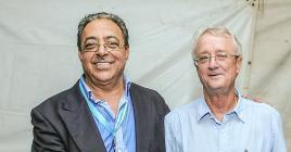 Elu aux côtés de Mukesh Balgobin en 2016, Paul France Tennant (à dr.) est bien parti pour conserver son poste d'administrateur.