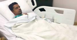 Naim Goburdhun doit subir une deuxième intervention chirurgicale pour lui extraire un pellet de plomb des poumons.