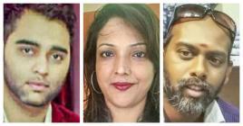 Fawzi Allymun, Rooma Bahadoor et Kumara Mootosamy donent leur avis sur ce qui se passe au sein du MMM.