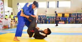 Shivraj Lutchman et son équipe espèrent rendre le jiu-jitsu brésilien encore plus populaire auprès des Mauriciens.