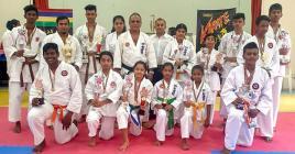 Les jeunes karatékas ont assuré lors de ce championat régional de Pamplemousses.