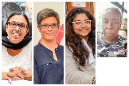 Pour Rita Venkatsamy, Mélanie Vigier de Latour-Bérenger, Anushka Virahsawmy et Elizabeth Songor, un gros travail de sensibilisation doit être fait.