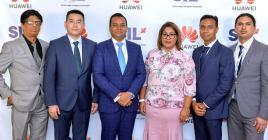 Une conférence qui a vu de nombreux acteurs des TIC, dont le ministre Deepak Balgobin (3e à partir de la gauche).